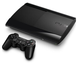 Sony Playstation 3 Super Slim Launch Edition 500GB Charcoal Black Console...