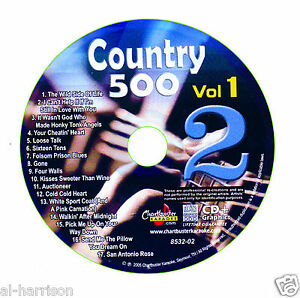 KARAOKE CHARTBUSTER CDG COUNTRY 500 VOL.1 DISC CB8532  DISC #2