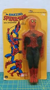 Mego The Amazing Spider-Man with Spiderweb 12.5