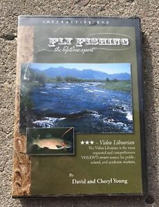 New Sealed Fly Fishing: The Lifetime Sport DVD 2005
