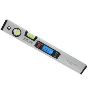 Digital Angle Finder Level 360 Degree Range Spirit Upright Protractor Ruler $36.76