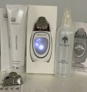 Nu Skin Galvanic SPA Facial Gels With Ageloc Facial Spa Package NuSkin