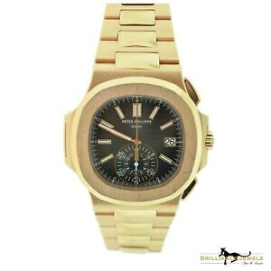 PATEK PHILIPPE Nautilus 59801R-001 Rose Gold Box & Archive Papers W-167