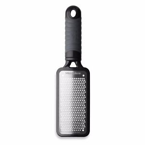 Microplane Home 2.0 Series Stainless Steel Fine Grater Black $14.95
