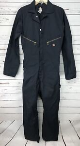 Dickies Mens Deluxe Coveralls Small Tall Long Sleeve Navy Blue