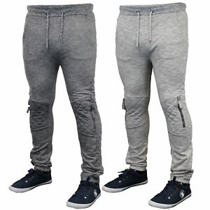 Soul Star mens sweatshirt bottoms hooded top jacket pants trouser quilted winter