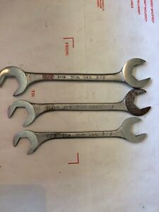 Martin 3 Piece Standard Black Angle Opening Wrench Set