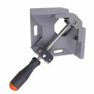 Aluminum Single Handle 90 Degree Right Clamp Woodworking Frame Clip For Welding $29.18