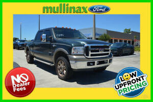 2005 Ford F-250 King Ranch 2005 King Ranch Used Turbo 6L V8 32V Automatic 4WD Pickup Truck Premium
