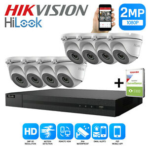 HIKVISION HILOOK 1080P HD 4CH DVR OUTDOOR NIGHT VISION CCTV SYSTEM CA
