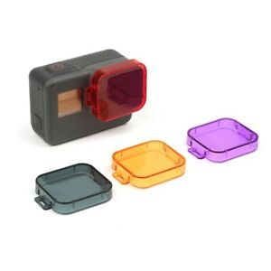 Gopro Accessories ABS Color Filter Lens Cover For GoPro Hero 7 6 5 Camera