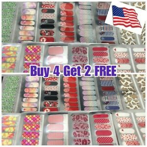 Color Nail Polish Strips Stickers $3 BUY 3 GET 1 FREE