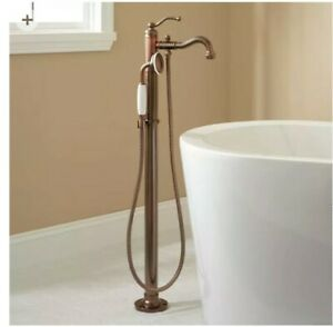 Bathroom free standing faucet oiled bronze US made never installed