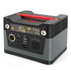 Portable Power Station Solar Generator Supply 300W Inverter Energy Storage Camp