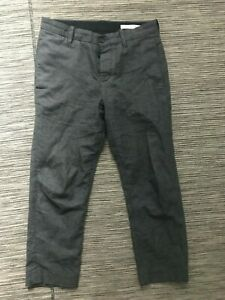 Outerknown Pants Men's 29 Actual 30 x 25 Trousers Gray Recycled Cotton