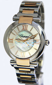 Chopard Imperiale 18k Rose GoldSteel MOP Automatic Watch BoxPapers 388531-6002