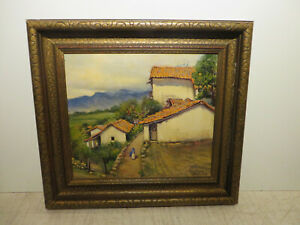 14x16 org. 1935 oil painting by Rolla Taylor of
