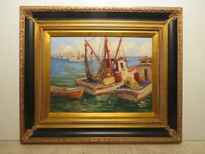 12x16 org. 1950 oil painting by Rolla Taylor of