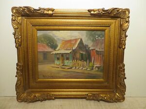 12x16 org. 1956 oil painting by Rolla Taylor of