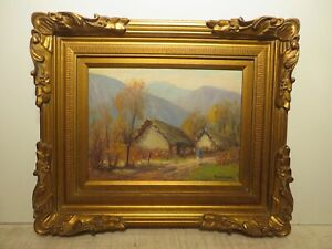 12x16 org. 1930 oil painting by Rolla Taylor of
