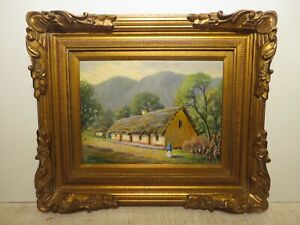 12x16 org. 1962 oil painting by Rolla Taylor of