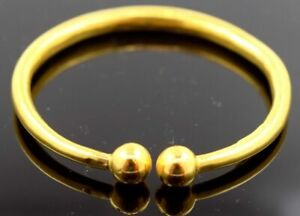 22k Bangle Solid Gold BABY BANGLE BRACELET Kara