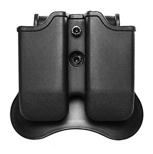 For Glock 17/19/19X/22/23/26/27/45 Double Magazine Pouch/Carrier Paddle Holster