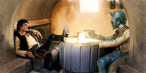 Star Wars Han Solo and Greedo