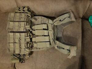 5.11 Tactical Tactec Plate 10x12 Inch Armor Carrier and Cross Fit Vest Storm 56…