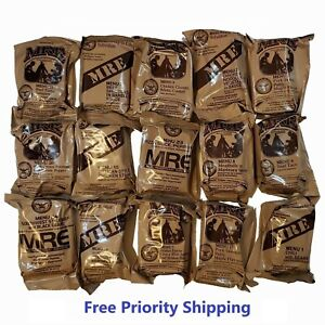 MRE US MILITARY Case AB 5 Random Draw - MEALS READY TO EAT
