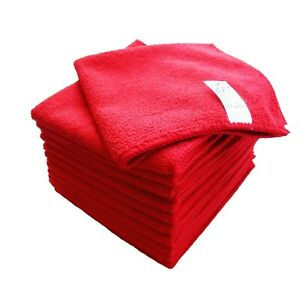 Goza Towels Microfiber Towel Cleaning Cloths All Purpose 16quot;x16quot; 12 Pack
