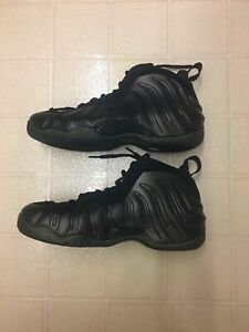 Nike Air Foamposite One Dark Army HOH House of Hoops 82 Pairs Size 10.5 2008