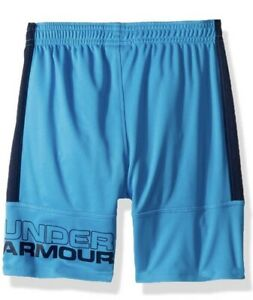 NWT! Under Armour Toddler Boys Stunt Shorts Canoe Blue Sz 2T