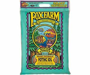 Fox Farm 12 Quart Ocean Forest Garden Potting Soil Bags 6.3 6.8 pH