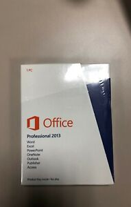 Microsoft Office Professional 2013 Full Version Sealed 269-16094