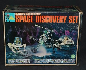 Major Matt Mason 1967 Boxed Space Discovery Set Complete