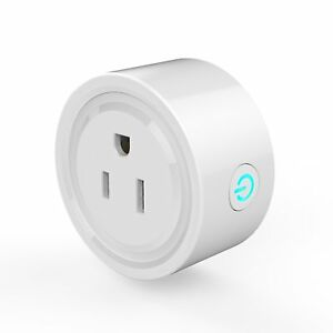 WiFi Smart Plug Wireless Mini Socket Outlet Timer Switch Remote Control fr Phone