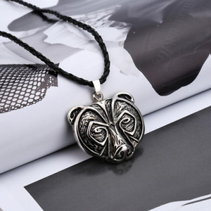 Norse Bear Necklace In Gift Box - Slavic - Viking - Unisex Gift - Antique Style