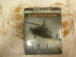 Black Hawk Down 4K (Ultra HD Blu-ray Digital) 3 DISC SET LIKE NEW!!