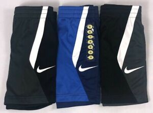 Boy's Little Youth Nike Dri-Fit Dry Polyester Athletic Shorts Sizes 4-7