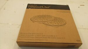 The Pampered Chef Microwave Chip Maker Set of Two  #1241   New! (N3)