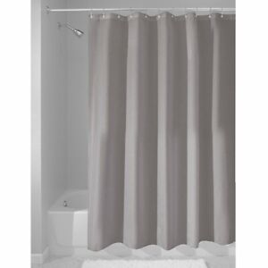 Interdesign Fabric Shower Curtain, Water-Repellent And Mold- And Mildew-Resistan