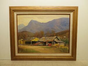 12x16 org.1940 oil painting by Rolla Taylor