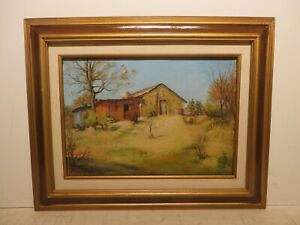 10x14 org.1935 oil painting by Rolla Taylor