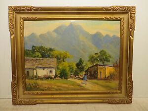 12x16 org. 1945 oil painting by Rolla Taylor