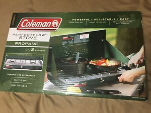 Coleman 2 Burner Camp Stove Propane Camping Outdoor Cooking Camping Supplies New