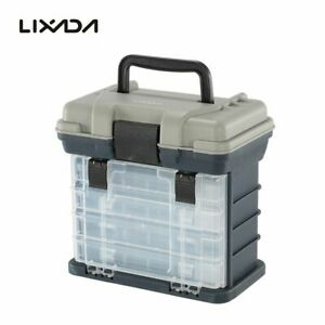 Universal Fishing Lure Box Water Resistant Sea Boat Fishing Tackle Storage Case