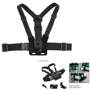 Adjustable Chest Mount Body Harness Accessories Belt Strap for Action Camera