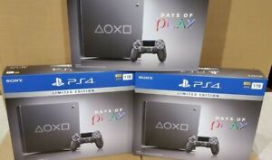 Sony PlayStation 4 Days of Play Limited Edition 1TB Black PS4 console 2019 mint!