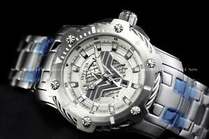 Invicta 39mm Limited Edition DC Comics WONDER WOMEN Bolt Silver Plated Watch